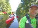 Spływ po  rzece Wda